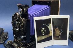 Lynxstax-19. Universal camera for instax mini and film 120.
